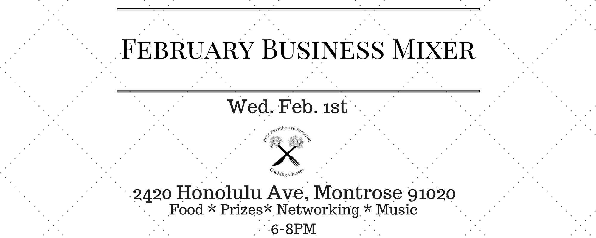 February Business Mixer
