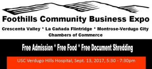 Business Expo - Tri-Chamber @ USC Verdugo Hills Hospital   Glendale   California   United States
