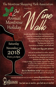 HOLIDAY WINE WALK @ Montrose Shopping Park | La Crescenta-Montrose | California | United States