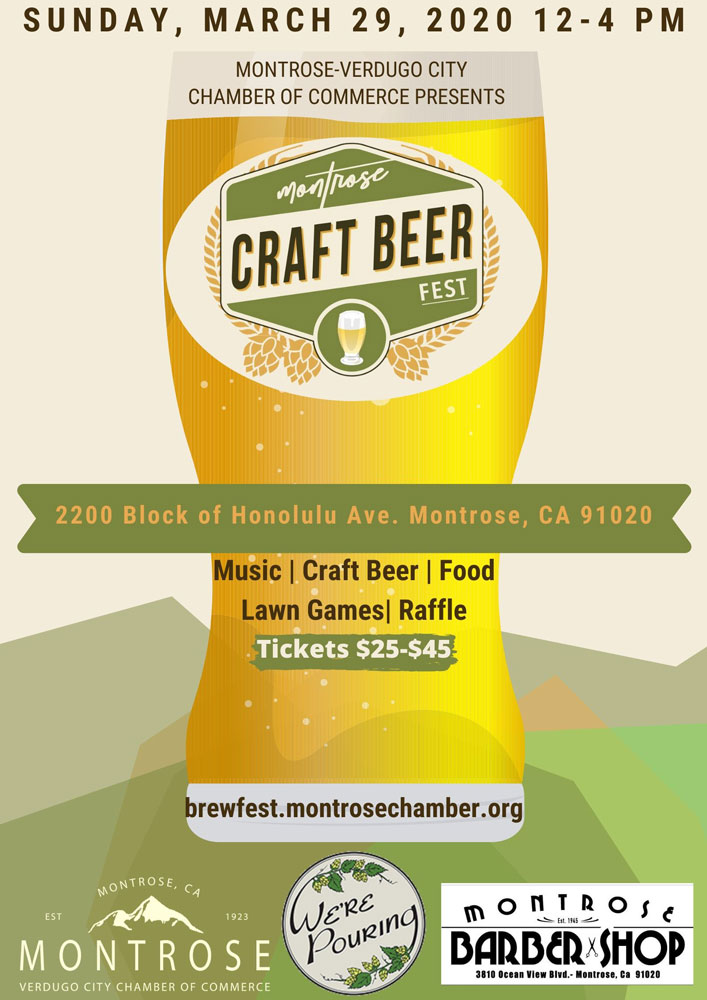 Craft Beer Fest 2020 @ Montrose Shopping Park | Glendale | California | United States