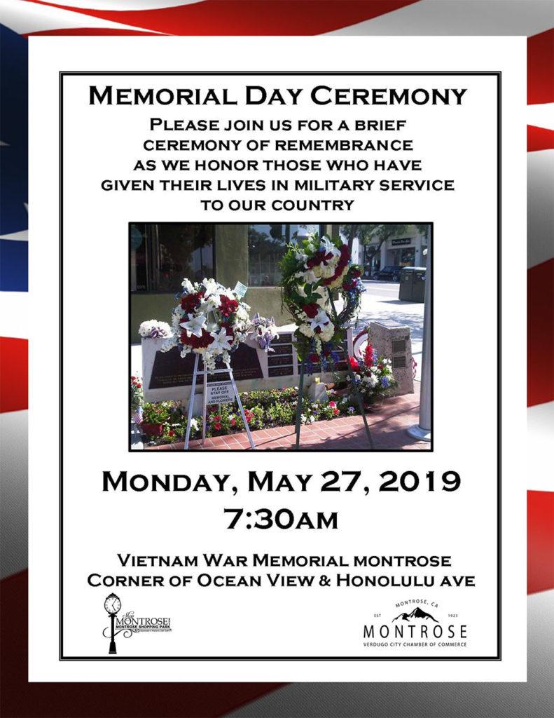 Memorial Day Celebration @ Vietnam War Memorial | Glendale | California | United States