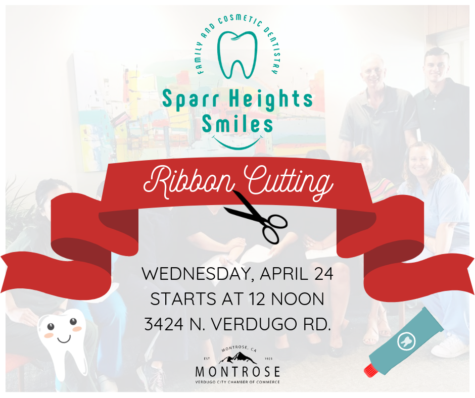 Sparr Heights Smiles Ribbon Cutting @ Sparr Heights Smiles | Glendale | California | United States