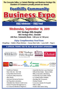 FOOTHILLS AREA COMMUNITY BUSINESS EXPO @ Verdugo Hills Hospital | Glendale | California | United States