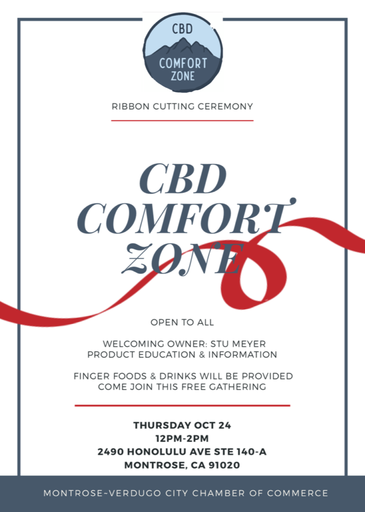 CBD Comfort Zone @ CBD Comfort Zone