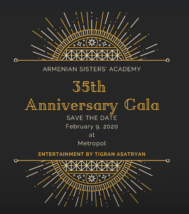Armenian Sisters Academy Anniversary Gala