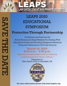 LEAPS 2020 Educational Symposium @ Glen Arden Club in Glendale, CA