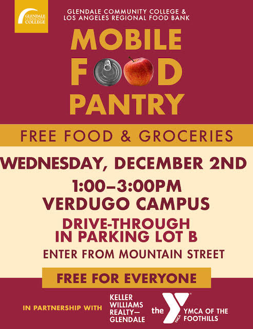 GCC & LA Regional Food Bank - Mobile Food Pantry @ GCC Parking Lot B