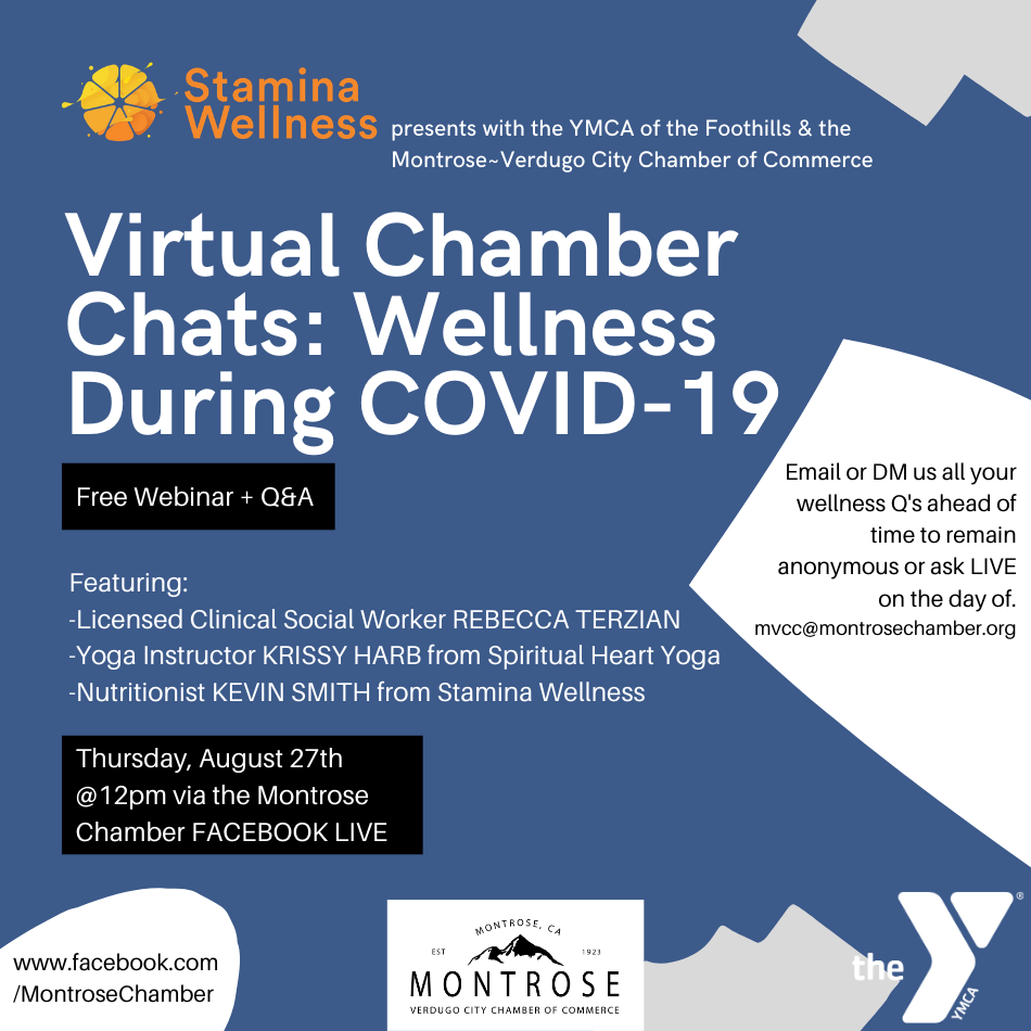 Virtual Chamber Chats: Wellness During COVID-19